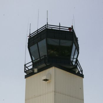Easterwood Airport control tower