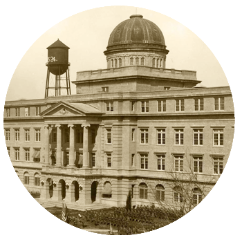 historical image of the Academic Building