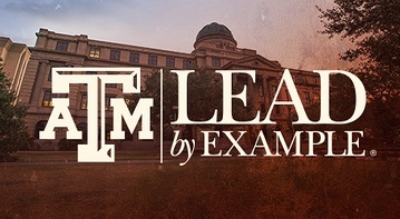Texas A&M: Lead by Example