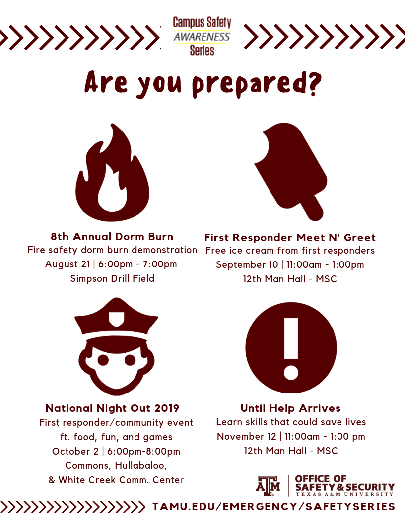 Campus Safety Awareness Series - Texas A&M University, College