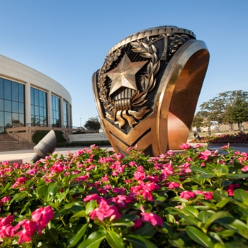 a461843f8 Aggie Ring statue